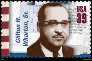 whartonstamp 300x199 Clifton R. Wharton, Sr.