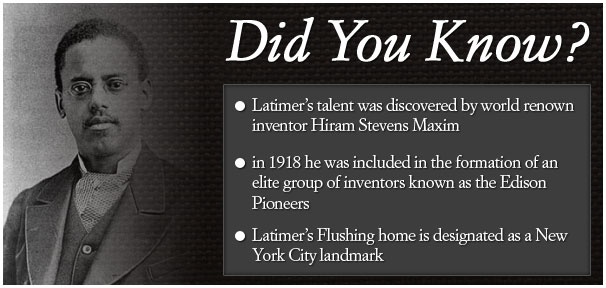 lewis h latimer did you know Did You Know? Black History Facts