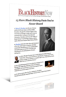 15 rare facts rendered 15 Rare Black History Facts Youve Never Heard
